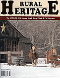 Rural Heritage photo cover
